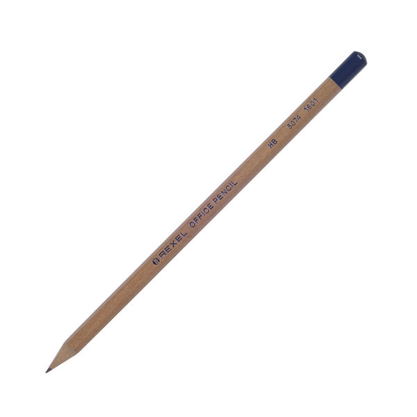 Rexel Natural Wood HB Office Pencils - Pack of 144 - 34251