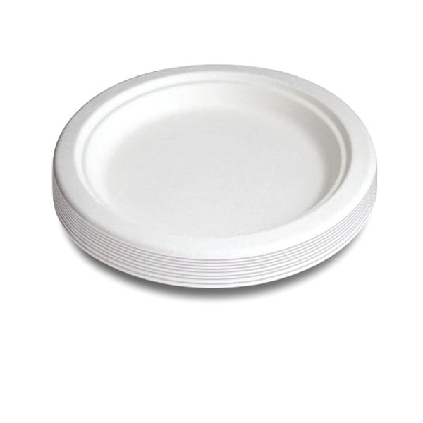 7 Inch Biodegradable Super Rigid Plates, Pack of 50 | 3865