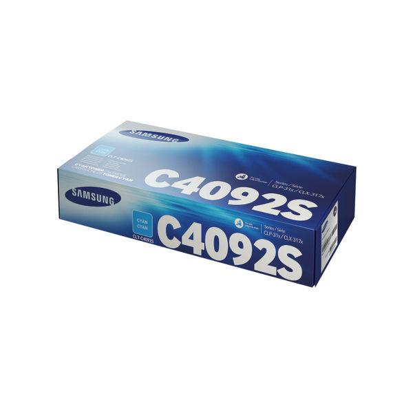 Samsung CLT-C4092S Cyan Toner Cartridge | SU005A