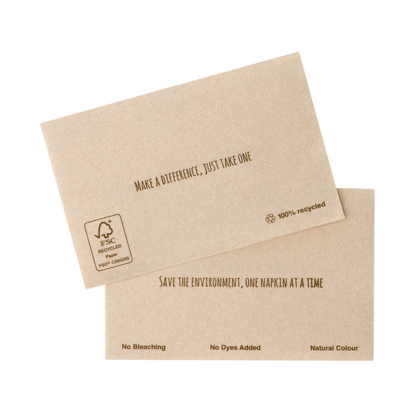 Tork Xpressnap Extra Soft Environmental Print Napkins (Pack of 1000) 12889