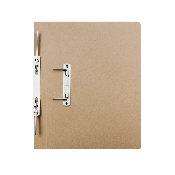 Rexel Jiffex Transfer File Foolscap Buff (Pack of 50) 43212EAST