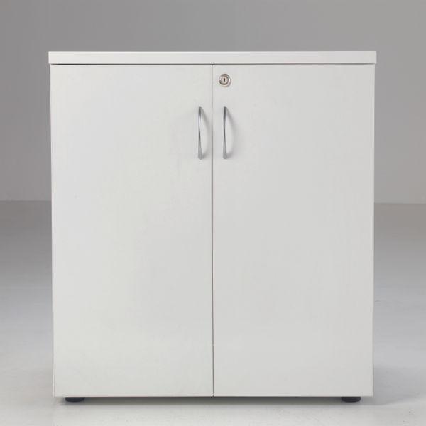 Jemini 700 x 450mm White Wooden Cupboard