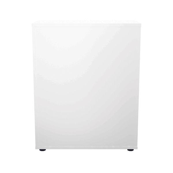 Jemini 700 x 450mm White/Beech Wooden Cupboard