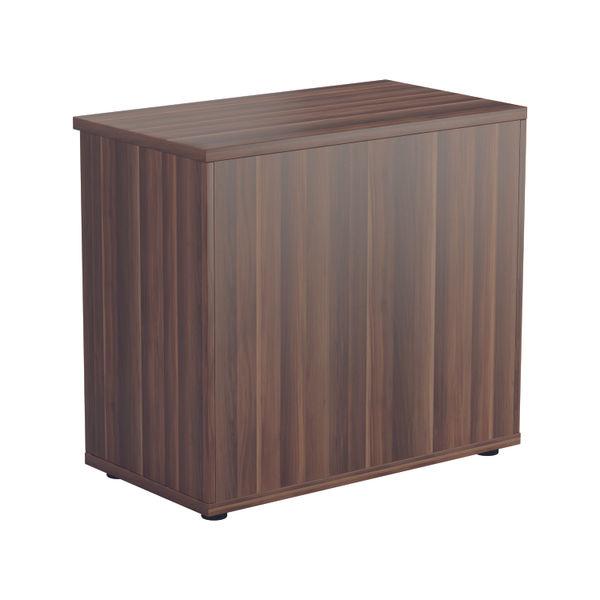 Jemini 700 x 450mm Dark Walnut Wooden Bookcase