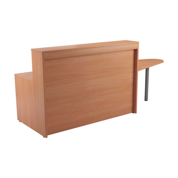 Jemini 1400mm Beech Reception Unit with Extension