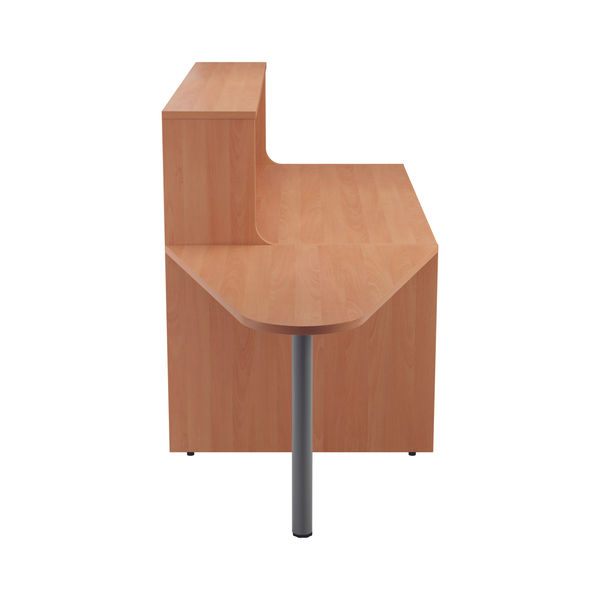 Jemini 1600mm Beech Reception Unit with Extension