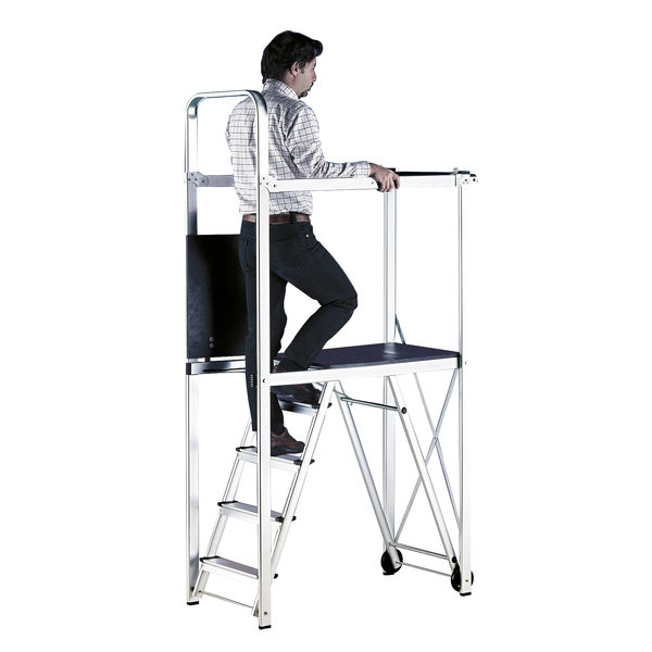 Folding Metal Scaffold Work Platform (Maximum capacity: 150kg) 382420