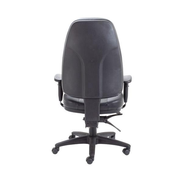 Avior Lucania Black Leather High Back Task Office Chair