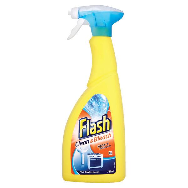 Flash 750ml Clean & Bleach Spray - 5413149888999