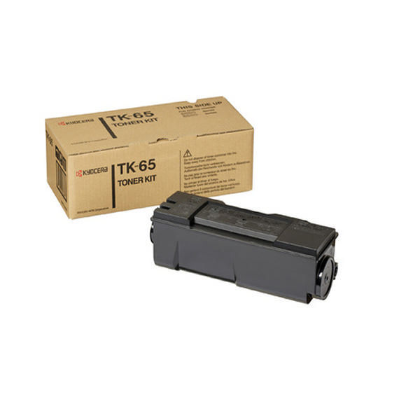 Kyocera TK-65 Black Toner Cartridge (20,000 Page Capacity)