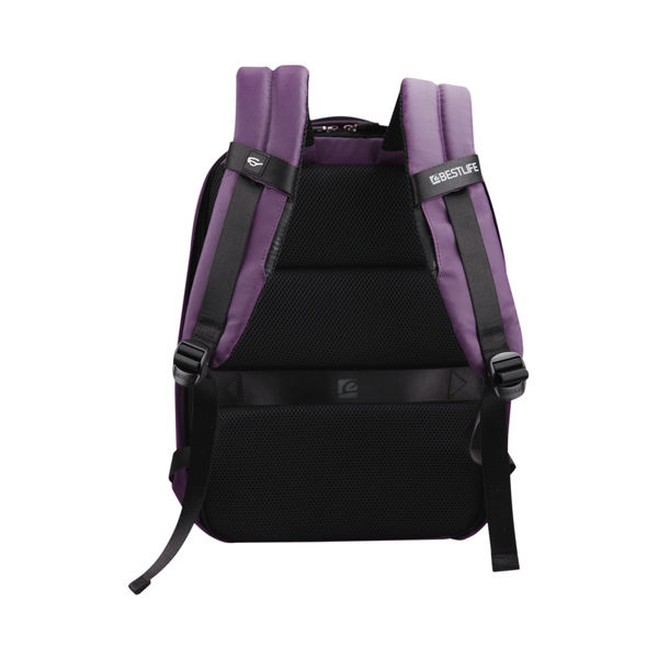 BestLife 15.6 Inch Laptop Backpack with USB Connector BB-3401R-1