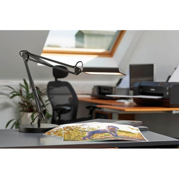Unilux Swingo LED Clamp Lamp Black 400101987