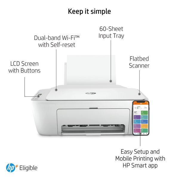 HP DeskJet 2710e All-in-One Printer 26K72B#687