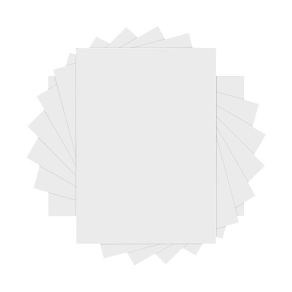 Q-Connect White C4 Self Seal Envelopes 90gsm, Pack of 250 - 1D70ST