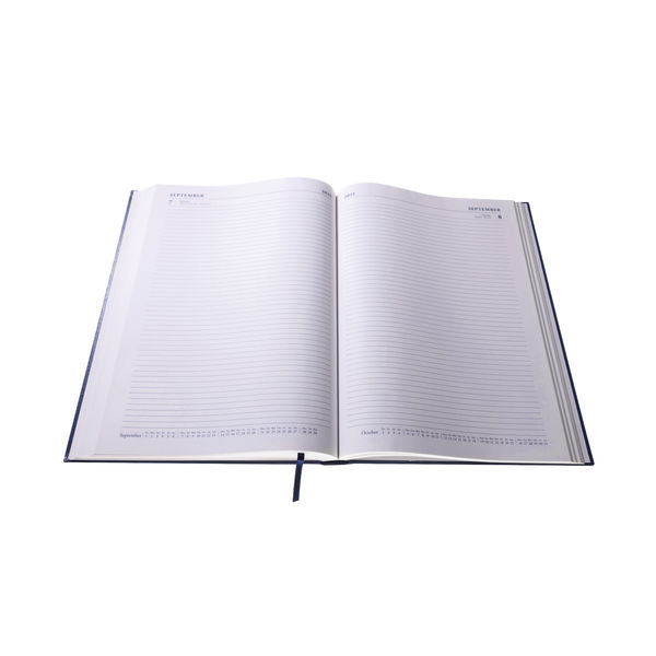 Collins A4 Desk Diary Day Per Page Blue 2022 44.60-22