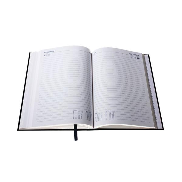 Collins A5 Desk Diary Day Per Page Black 2022 52.99-22