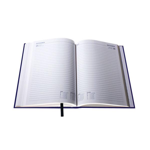Collins A5 Desk Diary Day Per Page Blue 2022 52.60-22
