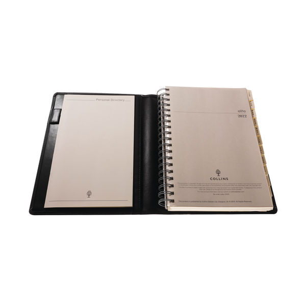 Collins Elite Executive Diary Day Per Page 2022 1100V