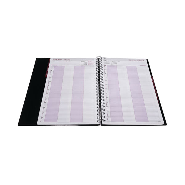 Collins Leadership A4 Diary Day Per Page 4 Per Appointment 22 CP6742