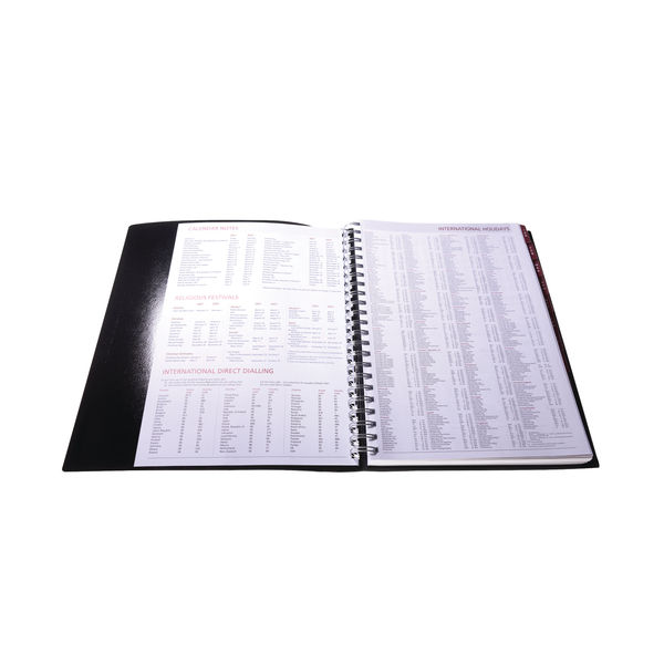 Collins Leadership A4 Diary Day Per Page Appointment 2022 CP6743