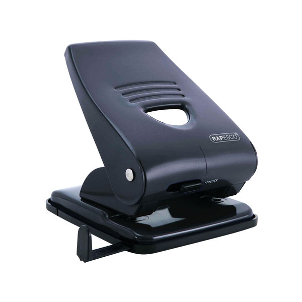 Rapesco 800 Heavy Duty 2 Hole Perforator Black OEM: PF800AB1