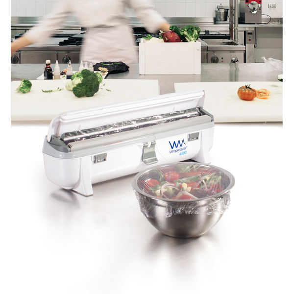 Wrapmaster 4500 Dispenser (Accepts refills up to 45cm in width, dispenses foil or cling film) 63M97