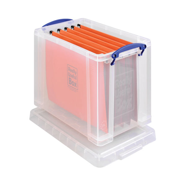 Really Useful 19 Litre Clear Plastic Storage Box - 19C