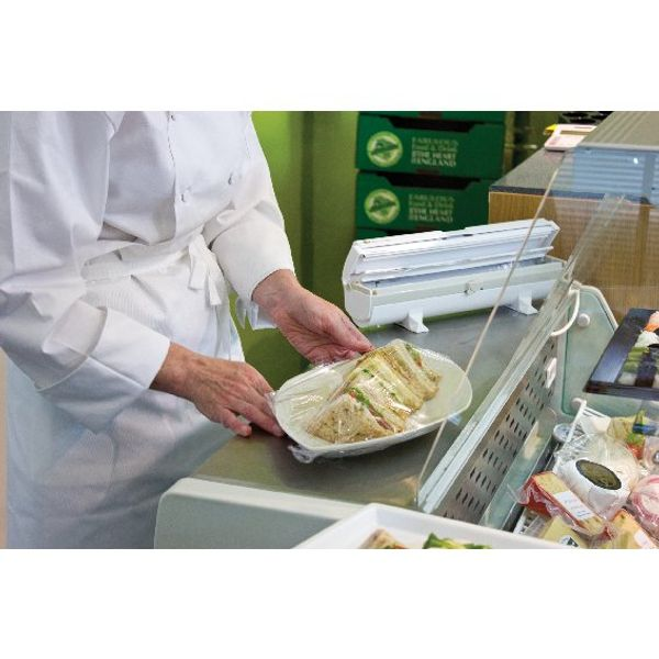 Wrapmaster 1000 Dispenser (Accepts refills up to 30cm in width, dispenses foil or cling film) 63M10