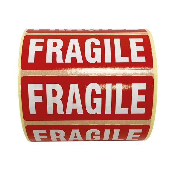 Fragile Parcel Labels 1000 Per Roll MA07624