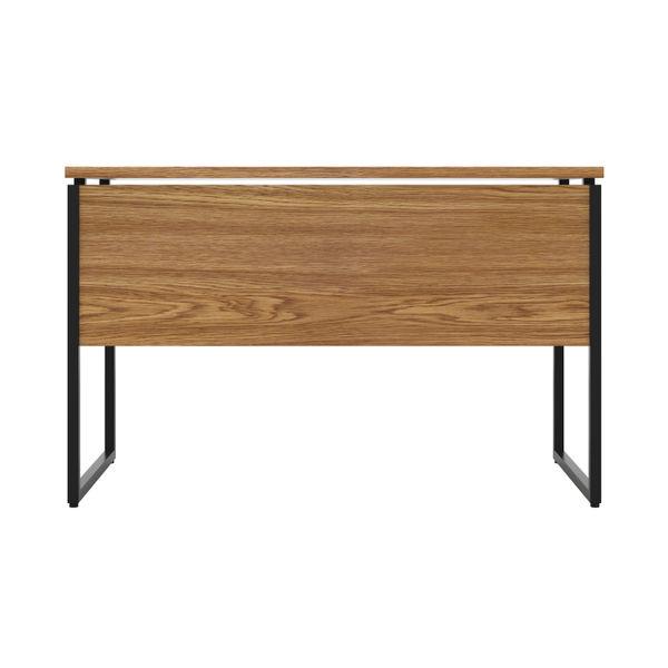 Jemini Soho Oak/Black Square Leg Desk