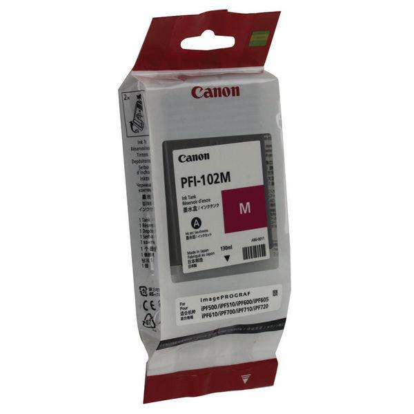 Canon PFI-102M Magenta Ink Cartridge - 0897B001AA