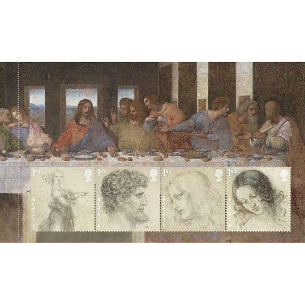The Leonardo da Vinci Prestige Stamp Book - YB081