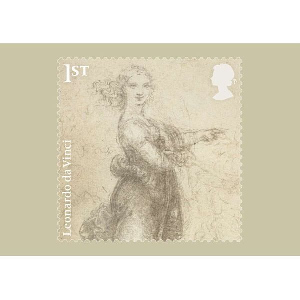 The Leonardo Da Vinci Stamp Card Pack