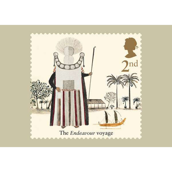 Captain Cook and the Endeavour Voyage Stamp Card Pack - AQ266