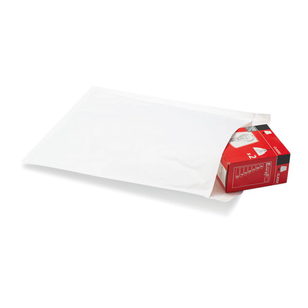Postpak Size 4 White Bubble Lined Envelopes (Pack of 10) MMUL04363