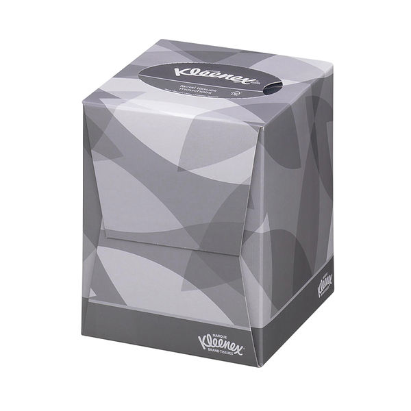 Kleenex 2-Ply Facial Tissue Cubes, Pack of 12 - 8834