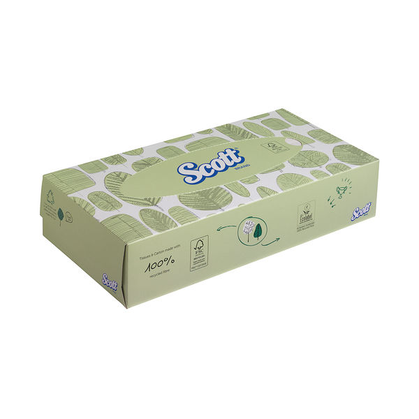 Scott Facial Tissues Boxes, Pack of 21 - 8837