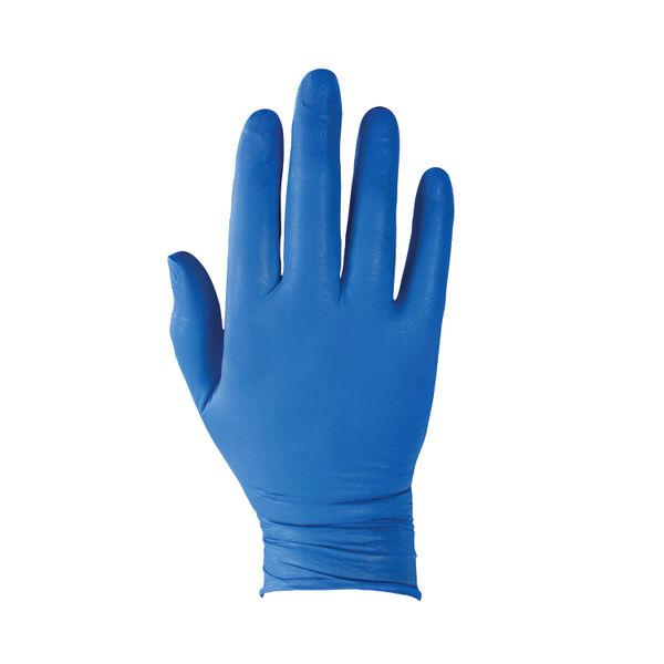 Kleenguard G10 Large Arctic Blue Safety Gloves, Pack of 200 - 90098