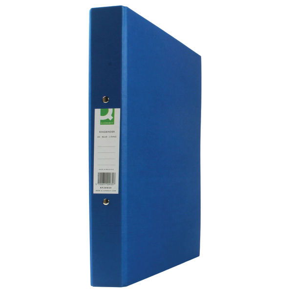 Q-Connect Blue A4 2 Ring Binders, Pack of 10 - KF20035