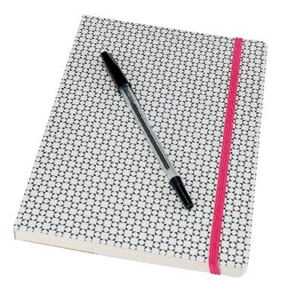 Go Stationery A5 Monochrome Tile Notebook – 5PNC402