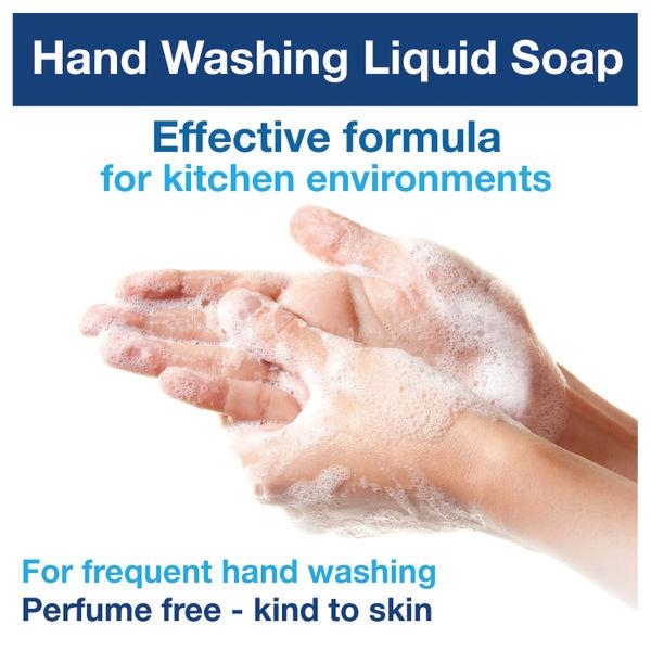 Tork Hand Washing Liquid Soap 1 Litre (Pack of 6) 420810