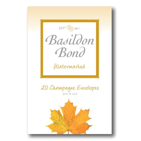 Basildon Bond Duke Envelope, Champagne, 95 x 143mm, 10 Packs x 20 - JD90423