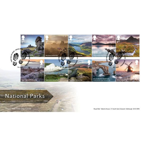 National Parks Souvenir Stamp Cover