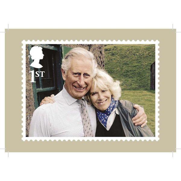 HRH Prince Charles' 70th Birthday Stamp Card Pack - AQ271