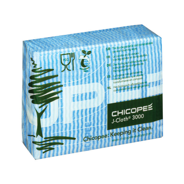 J-Cloth Blue Cloths, Pack of 50 - 0707117