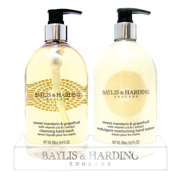 Baylis  Harding Mandarin and GrapeFruit Wash and Lotion Tray 0604243