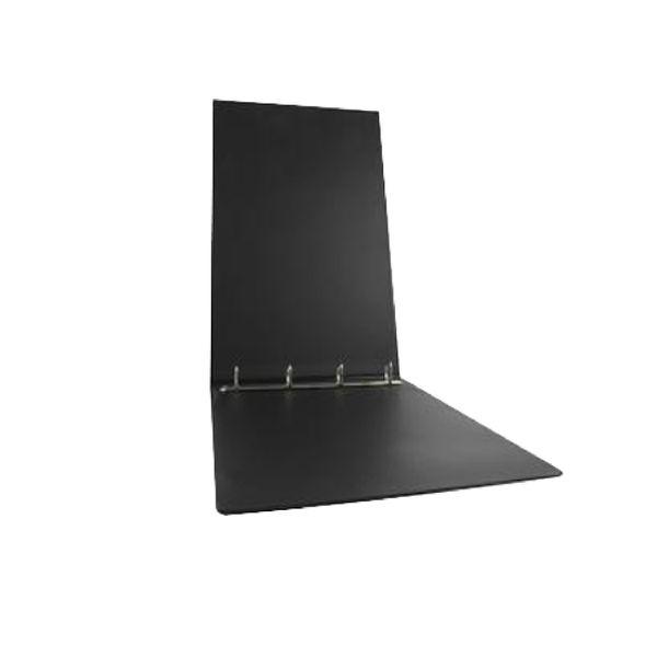 Elba Vision Black A3 Oblong 4 D-Ring Binder 30mm - 100082459