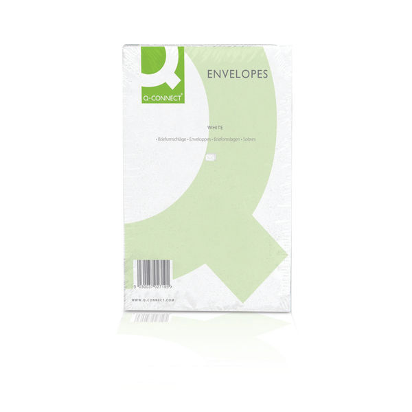 Q-Connect C4 Peel and Seal Plain Envelopes 100gsm, Pack of 250 - 1P27