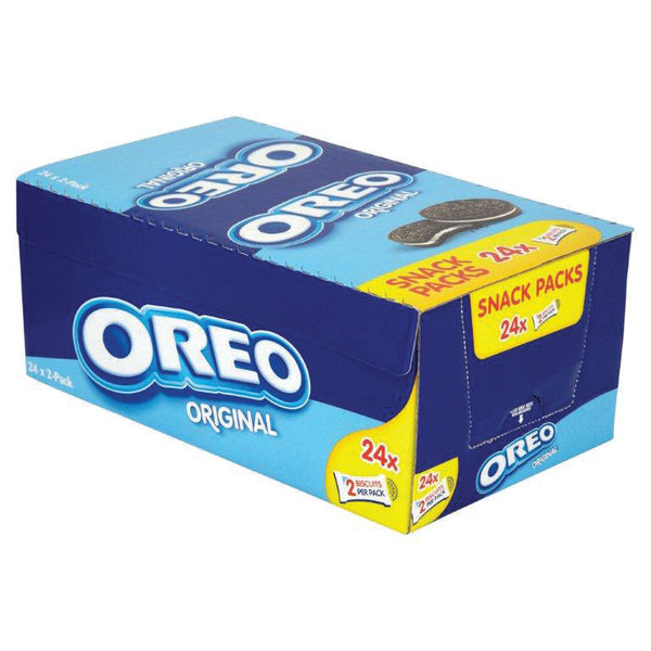 Oreo Biscuits Twin Packs, Pack of 24 - 915529