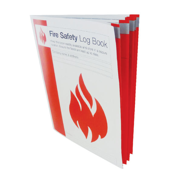 Fire Safety Log Book - LOGA4